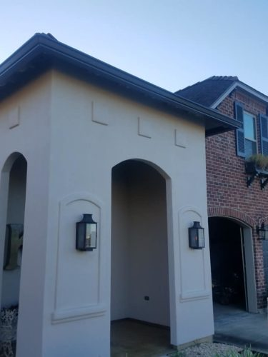 Crowley home that has had gutter installation